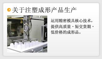 关于注塑成形产品生产