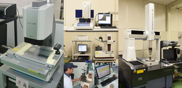 以ISO/TS 16949、ISO9001质量管理体系进行管理和评价试验,保持良好的质量