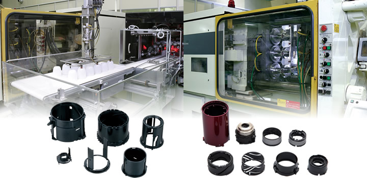 a wealth of experience in the manufacture of injection molded parts