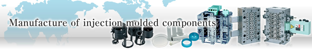 Manufacture of injection molded components