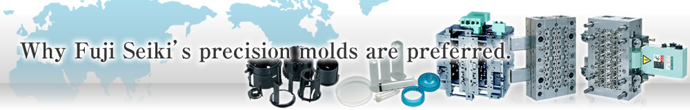 Why Fuji Seiki's precision molds are preferred.